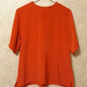 Preston & York red blouse..